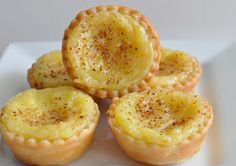 I found this recipe for Portuguese Custard Tarts  courtesy of the Cooking Channel  and Bill Granger . For those who might not have heard...