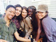 10 more days y'all...! #TWDSeason6  (10-1-15)  Sasha, Tara, Maggie, Michonne & Rosita
