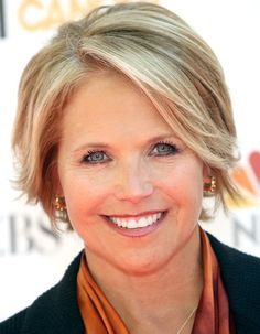Bob Hairstyles for Older Women Katie Couric