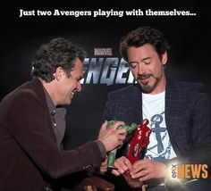 SCIENCE BROS! Avengers Humor... Ironman... Hulk
