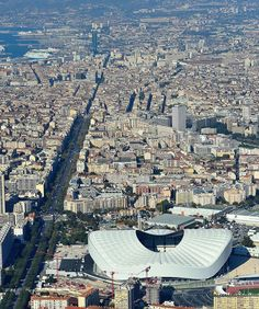 Velodrome Marseille, Aerial View, Paris Skyline, France, Iphone, Sports, Travel, Nature, Marseille