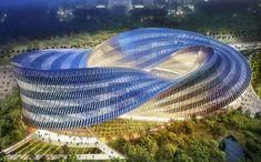 Swallow's nest, Vincent Cellebaut, parametric design, eco design, sustainable design, Mobius' ring, flexibility, zero carbon emission