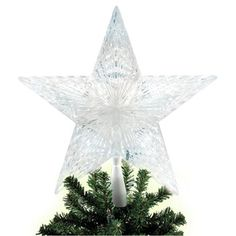 Found it at Wayfair - Brite Star 10 Light Pentagram Star LED Tree Topperhttp://www.wayfair.com/Brite-Star-10-Light-Pentagram-Star-LED-Tree-Topper-42-518-00-BRTS1065.html?refid=SBP.rBAZEVJ0qzmG1RSUI-ZDAgXX07an5krsjVOqVWH6I_c