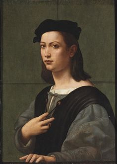 Giuliano Bugiardini, Portrait of a Young Man, c. 1504-05, sold at Christie's 2009 (traditionally attrib. to Raphael)