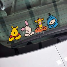 Cheap stickers gsxr Buy Quality decal supplier directly from China sticker on the rear window of the car Suppliers: Funny Car Sticker Car Body Winnie Decal for Tesla Ford Chevrolet Volkswagen Honda Hyundai Kia Lada &nbsp Family Car Stickers, Car Bumper Stickers, Funny Stickers, Cheap Stickers, Car Decals, Laptop Stickers, Design Your Own Car, Best Family Cars, Cute Winnie The Pooh