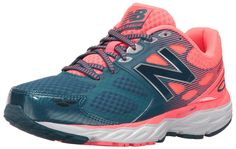 New Balance Women\u0027s 680V3 Running Shoes, Blue/Pink, 5 B US. Injection