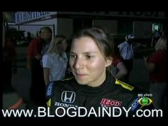 Simona de Silvestro interview after crash and fire in car.mpg