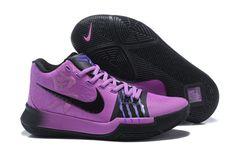 2018 Cheap Nike Kyrie 3 Purple Black For Sale