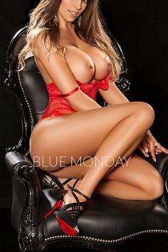 VIP London Escort Melissa - Blue Monday of London