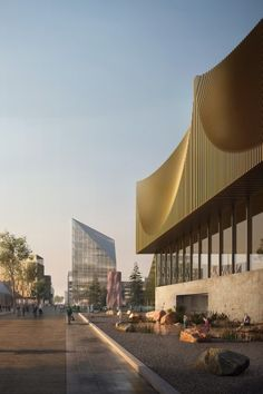 Oslo Airport City Master Plan by Haptic Architects and Nordic - Office of Architecture
