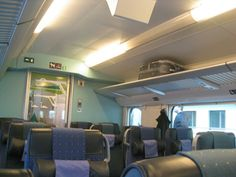 Feeling like a VIP in this train coach