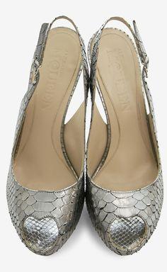 cbe0e414db1 Alexander McQueen ~ Crazy Heels