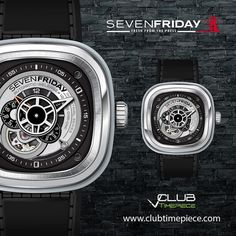 The beautiful Sevenfriday P1/1... Find it soon in our website and get a FREE strap!!! Only in CTP!! by club_timepiece