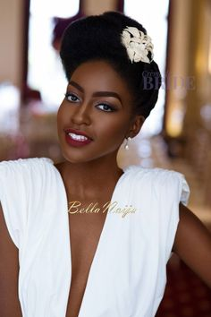 Dionne Smith is a renowned Bridal Hair Specialist and is able to perfectly craft your bridal hair to perfection, after all you deserve the best! Wedding Hair Tips, Natural Hair Wedding, Bridal Hair And Makeup, Bridal Beauty, Hair Makeup, Glam Makeup, Afro Hairstyles, Wedding Hairstyles, Curly Hair Styles
