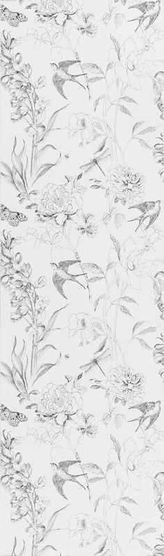Designers Guild Sibylla wallpaper, botanical pattern in grey and white Lego Ninjago, Ninjago Memes, Ninjago Cole, White Rooms, Designer Wallpaper, Designers Guild Wallpaper, Background Patterns, Bunt, Print Patterns