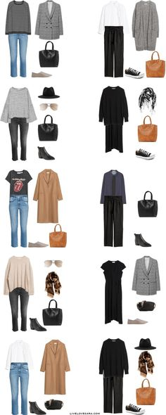 What to Pack for 10 Days in Germany Packing Light List Outfit Options 11-20
