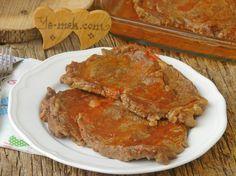 Fırında Salçalı Biftek Resmi