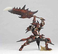 Revoltech Yamaguchi No.123 Monster Hunter Swordsman Rathalos