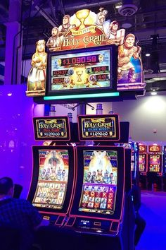 slot machine motion graphics