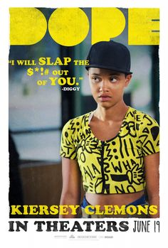 Dope Poster Kiersey Clemons