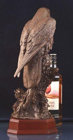 Peregrine Falcon Sculpture bronze presentation figurine, sculpture ...