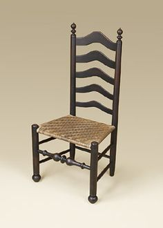 colonial chairs side view - Google Search
