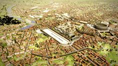 Artist's reconstruction of ancient Rome