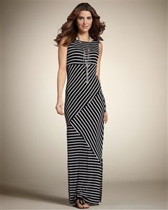 f3e86a8f077 Maxi dress from Chicos. Striped Maxi Dresses