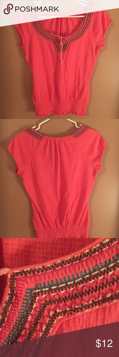 Light weight top Coral top elastic bottom Almost Famous Tops