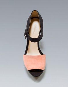 TRICOLOUR SANDAL - Shoes - Woman - ZARA United States