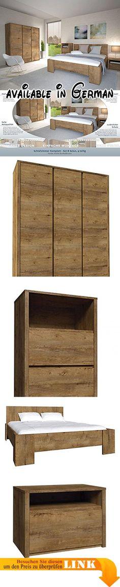 B01MQY9Q45  Woodkings Bett 180x200 Hampden Doppelbett recycelte - schlafzimmer komplett günstig