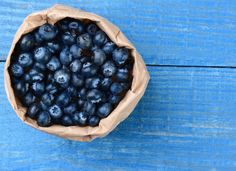 Bag of Blueberries by Steve Cukrov Photography on Creative Market