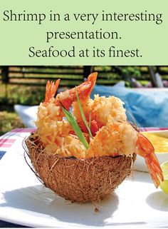 ... Seafood & Fish Delish on Pinterest | Coconut shrimp, Shrimp and Crabs