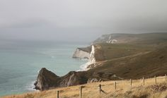 wanderthewood: South West Coast Path near Durdle Door, Dorset, England by wee nadine