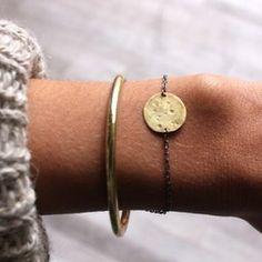 Annika Kaplan full moon bracelet