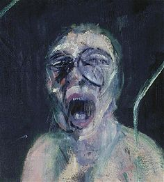 FRANCIS BACON  DETAIL: study for the nurse from the battleship potemkin    1957  Oil paint on canvas  78 × 55 9/10 in  198 × 142 cm    jpg (703×780)    Painting