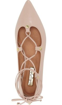 A trend-forward ghillie flat that is appropriate for work, but still so cute 1443481a1a5