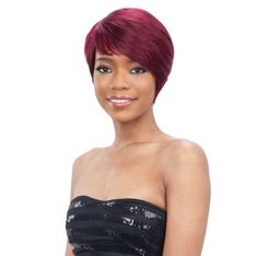 Milky Way Saga Remy Hair Wig - Mulberry Braided Ponytail Hairstyles, Indian Hairstyles, Black Women Hairstyles, Weave Hairstyles, Remy Hair Wigs, Remy Human Hair, Human Hair Wigs, Saga, Lux Hair