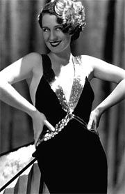 Norma Shearer proving that the girl next door can be sexy