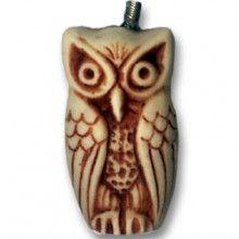 chaveiro de coruja em resina - mod I - Corujas Brasil