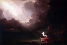 "Thomas Cole ""The Voyage Of Life: Old Age"""