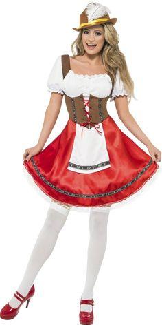 Adult Bavarian Beer Wench Oktoberfest Costume 20e3d95b52f6