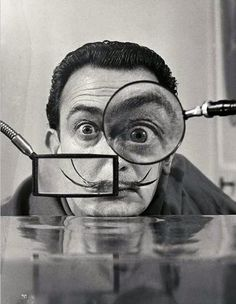 Salvador Dali. 3rd Grade, I think they will love this man. Freedom in a lesson to create from your imagination, a dream. Materials of their choosing and the option of 2D or 3D.