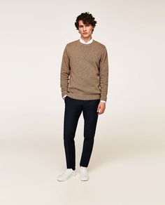 Image 1 of FLECKED SWEATER from Zara