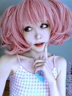 Dolly Eye Blytheye Pink Colored Lenses : Candy & Seductive