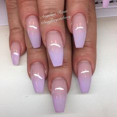 11 Best Purple Ombre Nails Images In 2019 Enamels Nail Art