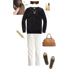"""Basic & neutral"" by maomi on Polyvore"