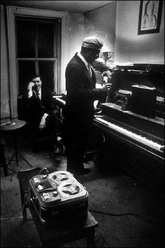 hall Overton & thelonious Monk by W. Eugene Smith