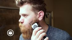 EPIC beard trim with Clippers | Eric Bandholz - YouTube