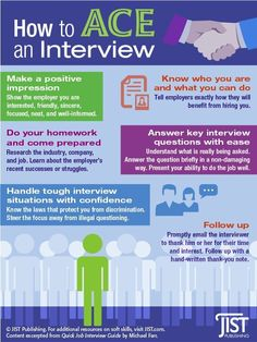 How to Ace an Interview JIST Career Solutions - Resume Template Ideas of Resume Template - How to Ace an Interview Job Interview Preparation, Interview Answers, Interview Skills, Job Interview Questions, Job Interview Tips, Prepare For Interview, Job Interviews, Job Resume, Resume Tips